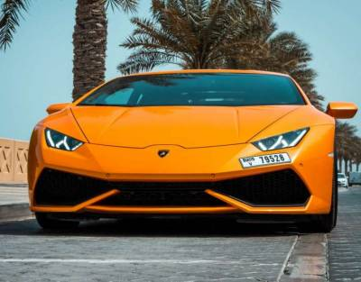 Lamborghini Huracan Coupe Price in Dubai - Sports Car Hire Dubai - Lamborghini Rentals